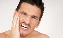 dente feito canal doendo