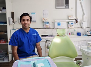 Seguro dentário com dentário